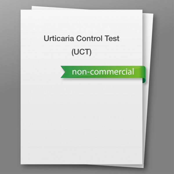 The Urticaria Control Test (UCT) - non-commercial use