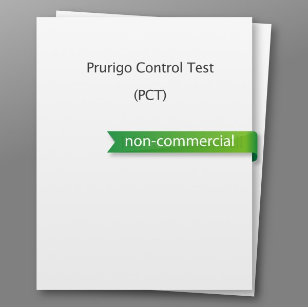 Prurigo Control Test (PCT) - non-commercial use