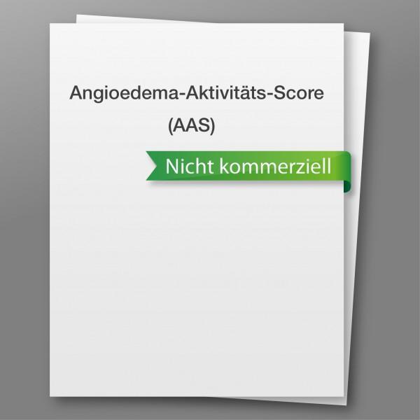 Angioedema Activity Score (AAS) - nicht kommerzieller Gebrauch
