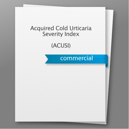 Acquired Cold Urticaria Severity Index (ACUSI)
